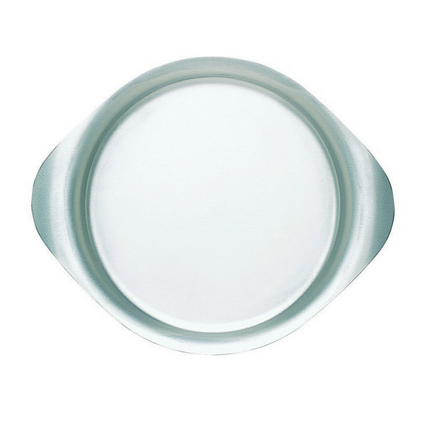 Sori Yanagi, Stainless Steel Plate - 13 in, - Placewares