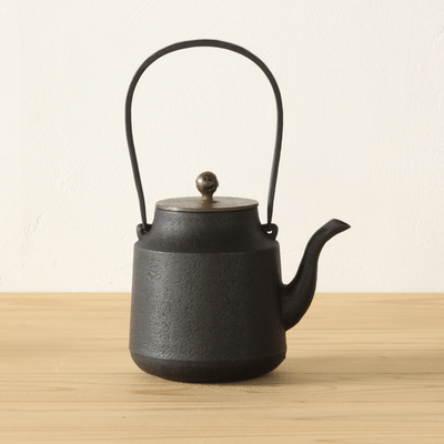 Oigen Foundry, Tsuzumi Cast Iron Kettle, - Placewares