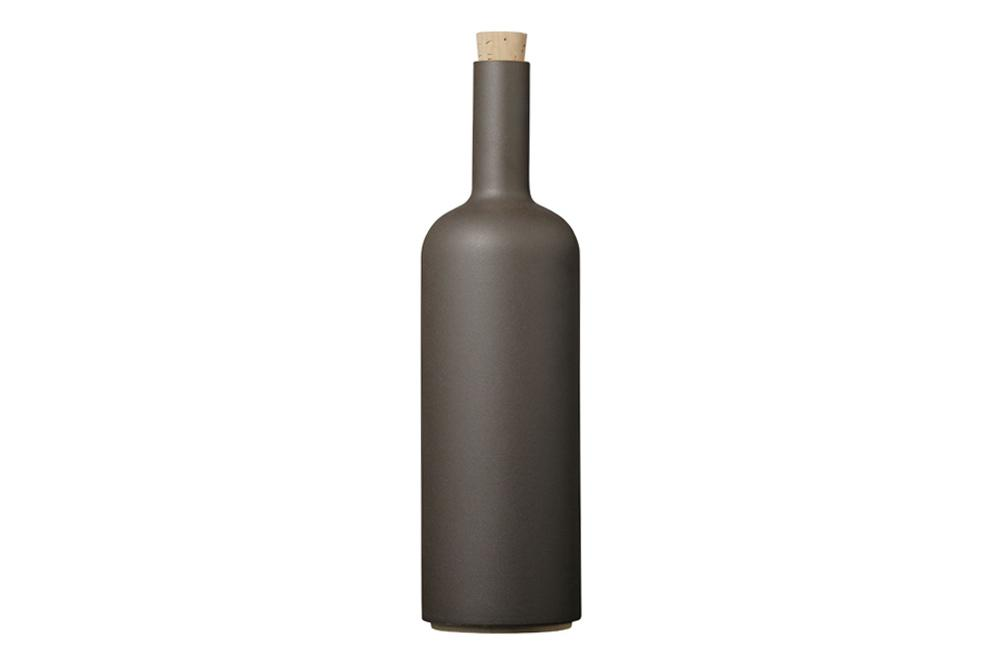 Hasami Porcelain, Bottle - Black, - Placewares