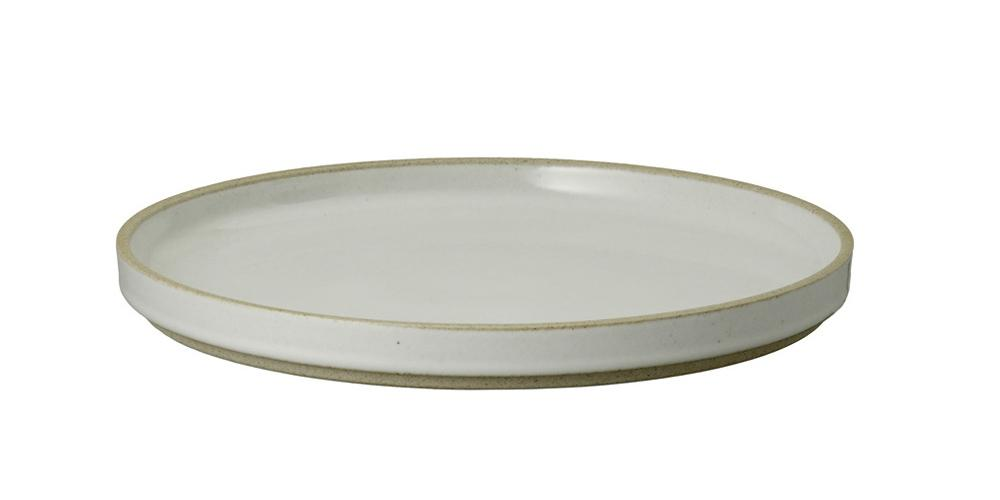 Hasami Porcelain, Plate, Extra Large, Dinner - Gloss Gray, Gloss Gray- Placewares