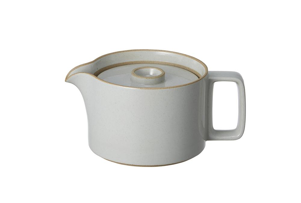 Hasami Porcelain, Coffee and Tea Pot - Gloss Gray, Gloss Gray- Placewares