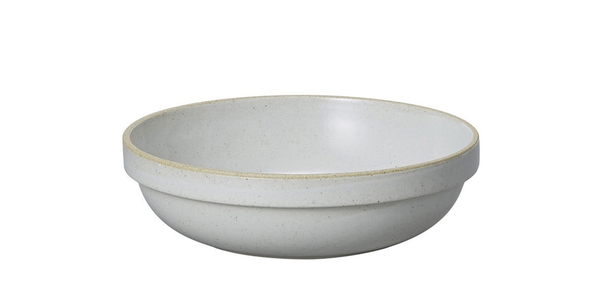 Hasami Porcelain, Round Bowl, Medium - Gloss Gray, Gloss Gray- Placewares