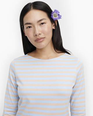 Marimekko, Ilma Boatneck, Light Blue & Light Beige / XS- Placewares