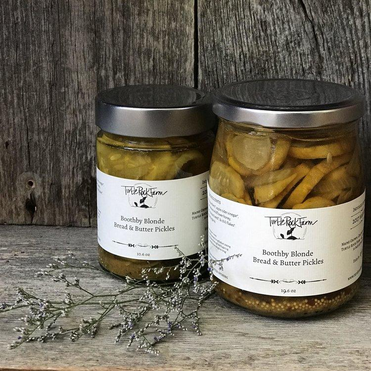 Turtle Rock Farm, Boothby Blonde Bread & Butter Pickles, - Placewares