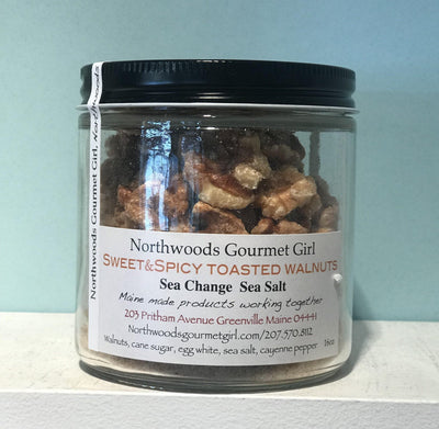 Northwoods Gourmet Girl, Sweet & Spicy Toasted Walnuts, - Placewares