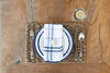 The Rope Co., Nautical Rope Placemats, Oak, - Placewares
