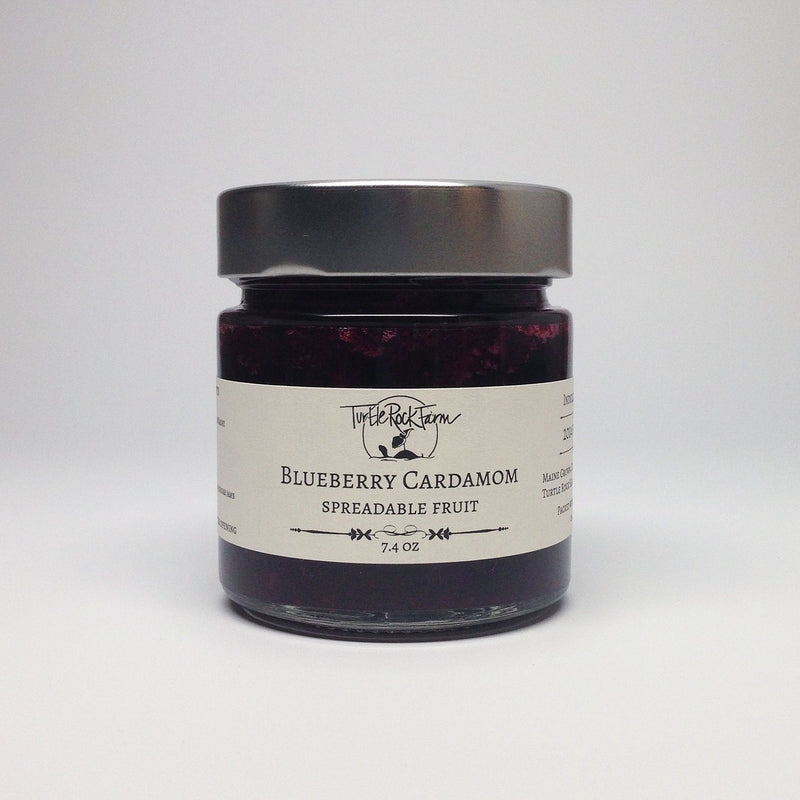 Turtle Rock Farm, Blueberry Cardamom Spreadable Fruit, - Placewares