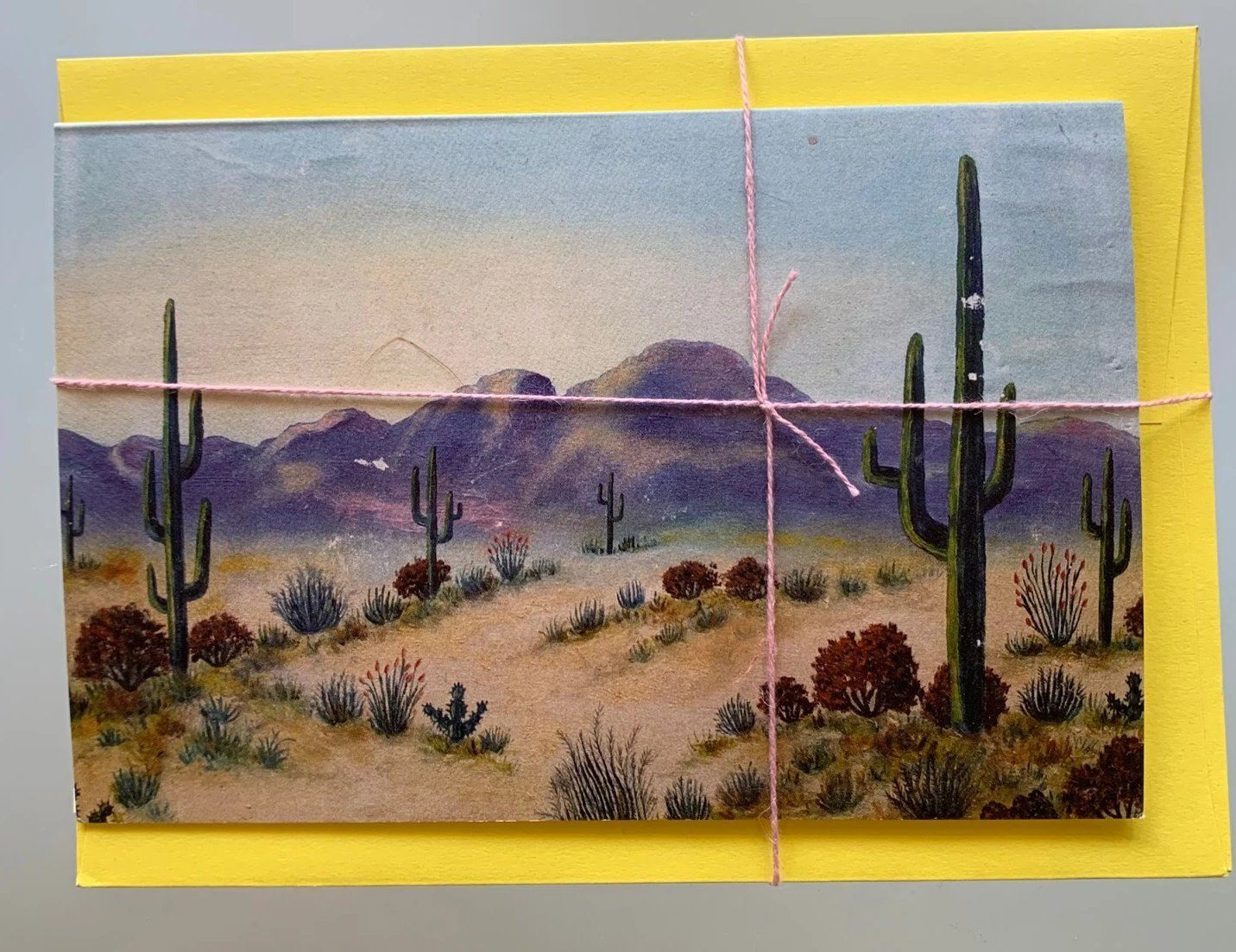 ALL ROADS, High Desert Greeting Card Vintage, - Placewares