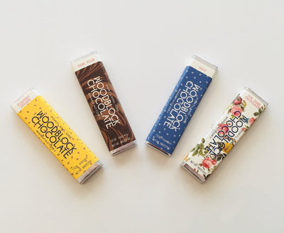 Woodblock Chocolate Manufactory, Fleur de Sel Chocolate Bar, - Placewares