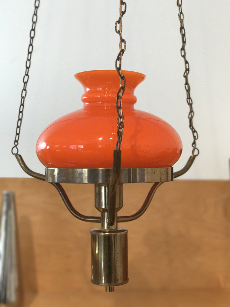 Vintage @ Placewares, Holmegaard Denmark Early 1950s Hanging Lamp, - Placewares