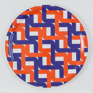 Jim Isermann @ Placewares, Round Tray, Pattern 1 - Jim Isermann @ Placewares, - Placewares
