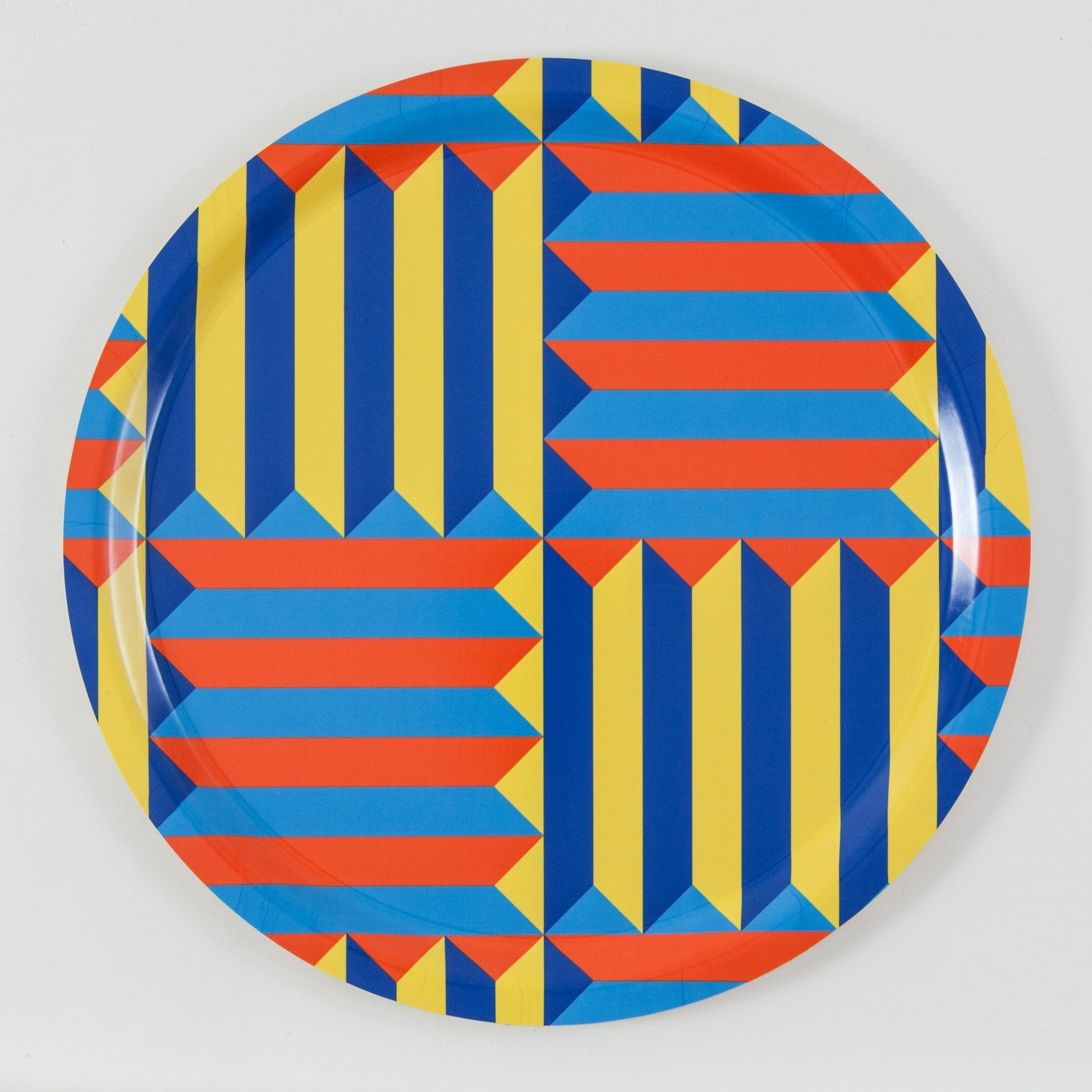 Jim Isermann @ Placewares, Round Tray, Pattern 4 - Jim Isermann @ Placewares, - Placewares