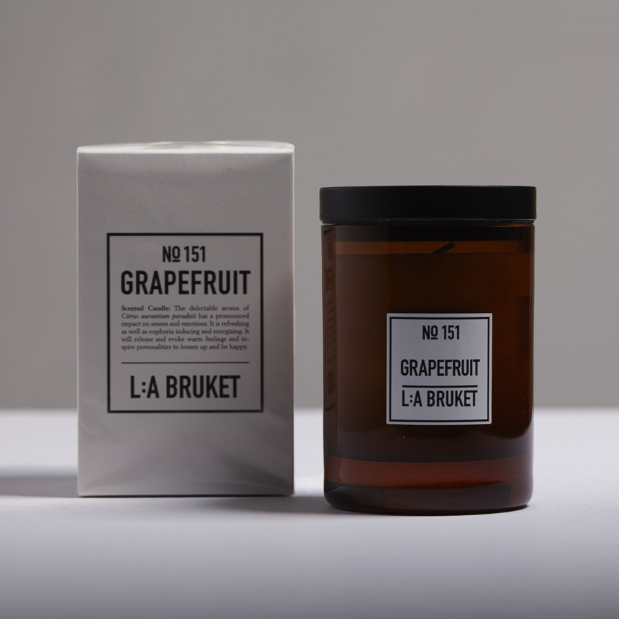 L:A Bruket, Grapefruit Candle, - Placewares