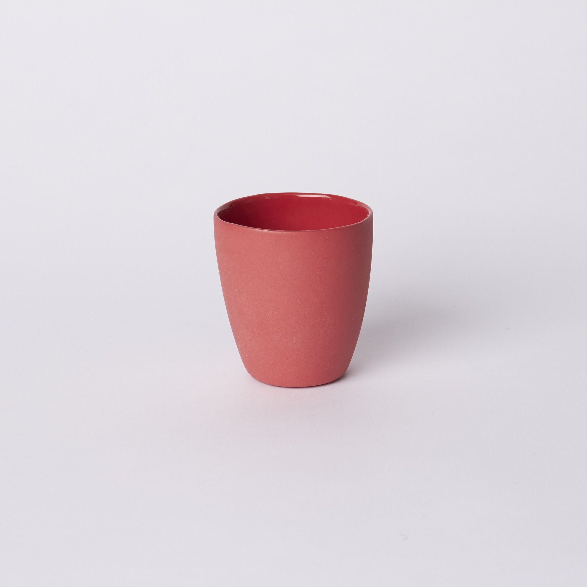 Mud Australia, Latte Cup, Red- Placewares