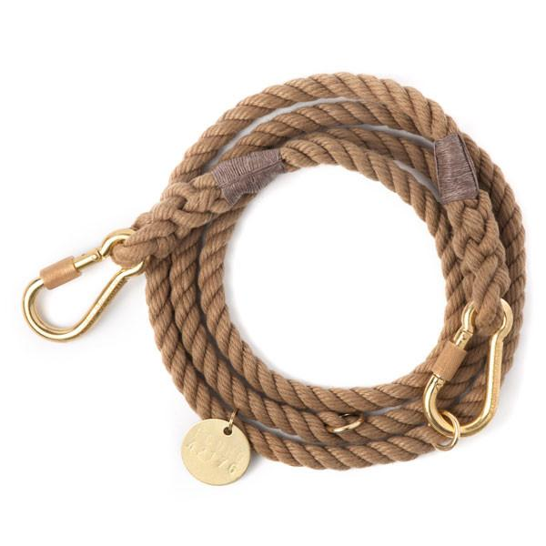 Found My Animal, Marine-Grade Dog Leash, adjustable - Natural, - Placewares