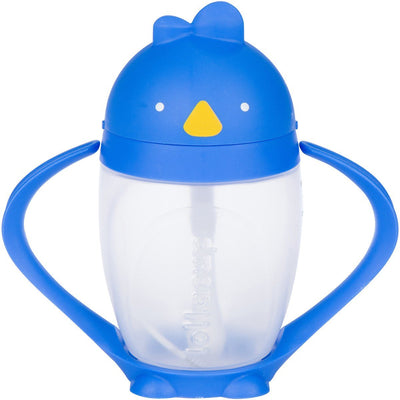 Lollaland, Lollacup, The Straw Sippy Cup - multiple colors, Brave Blue- Placewares