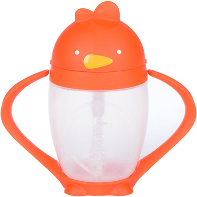 Lollaland, Lollacup, The Straw Sippy Cup - multiple colors, Happy Orange- Placewares
