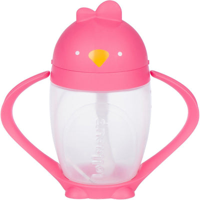 Lollaland, Lollacup, The Straw Sippy Cup - multiple colors, Posh Pink- Placewares