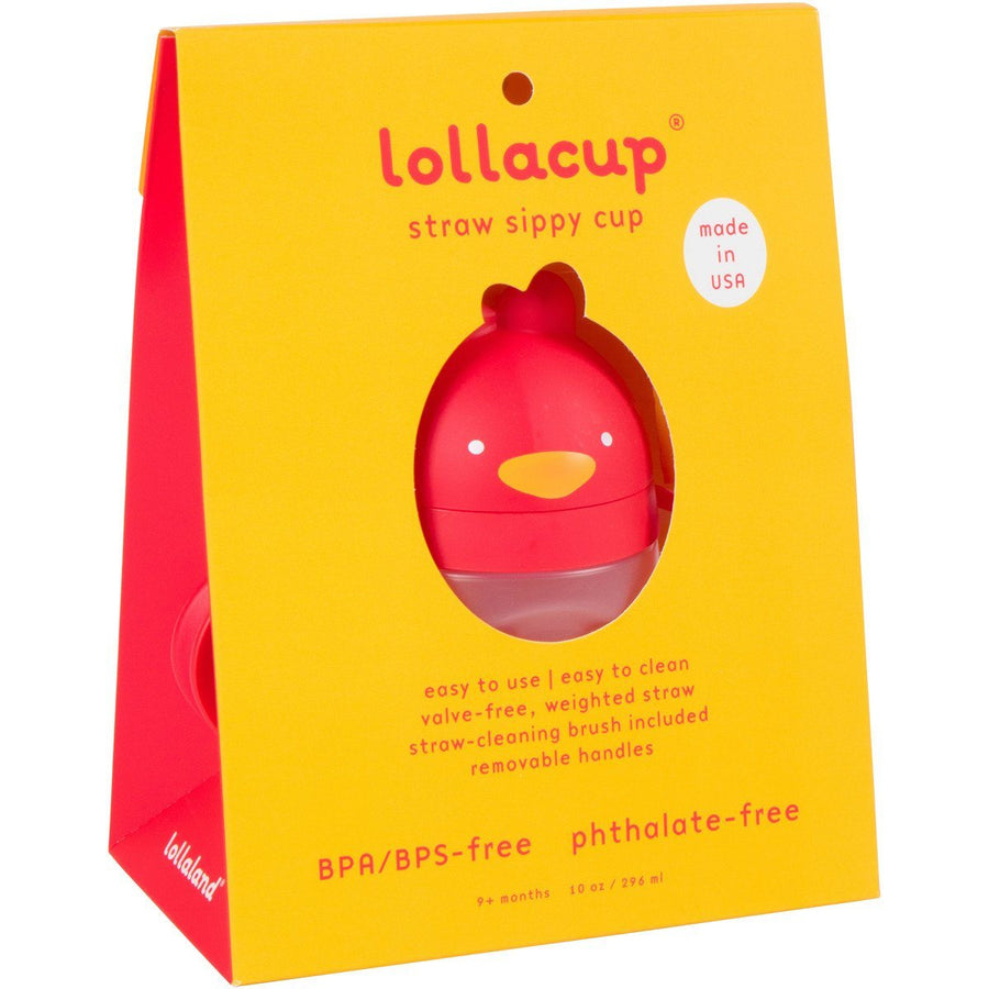 Lollaland, Lollacup, The Straw Sippy Cup - multiple colors, Chic Black- Placewares