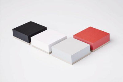 Ito Bindery, Japanese Memo Block, assorted sizes & colors, Red / Small- Placewares