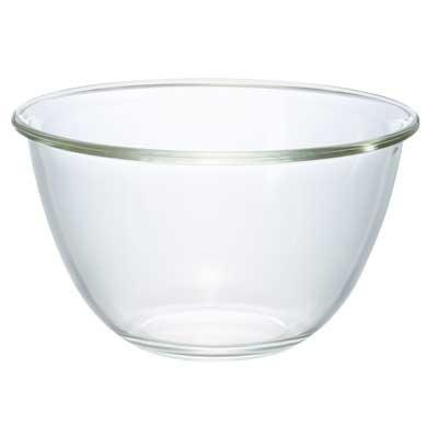 Hario, Glass Mixing Bowl, Large - 74 oz / 2200 ml, - Placewares