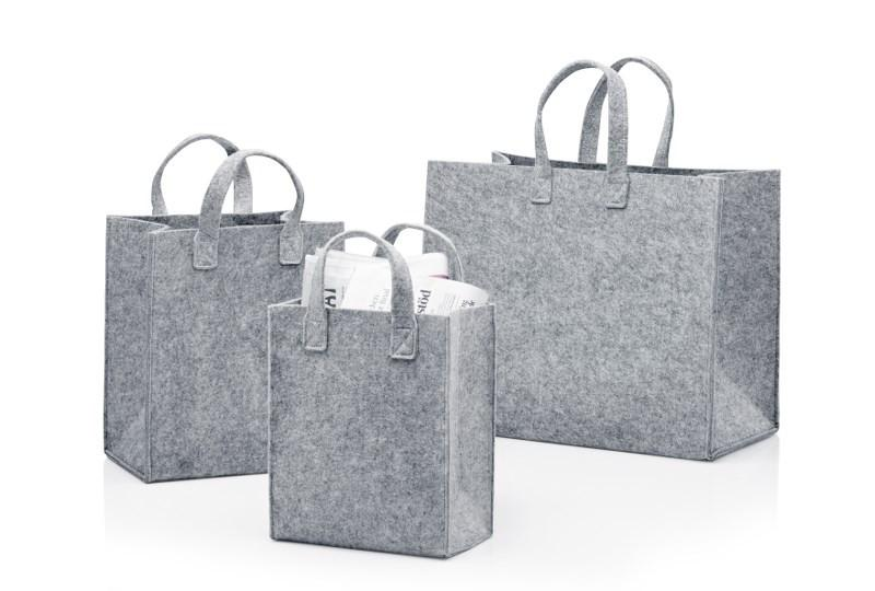 Iittala, Meno Felt Home Bags, assorted sizes, - Placewares