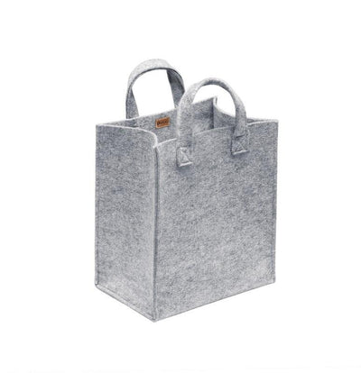 Iittala, Meno Felt Bags, Medium / Grey- Placewares
