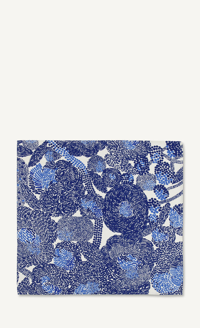 Marimekko, Mynsteri Tea Towel Set, White/Blue- Placewares