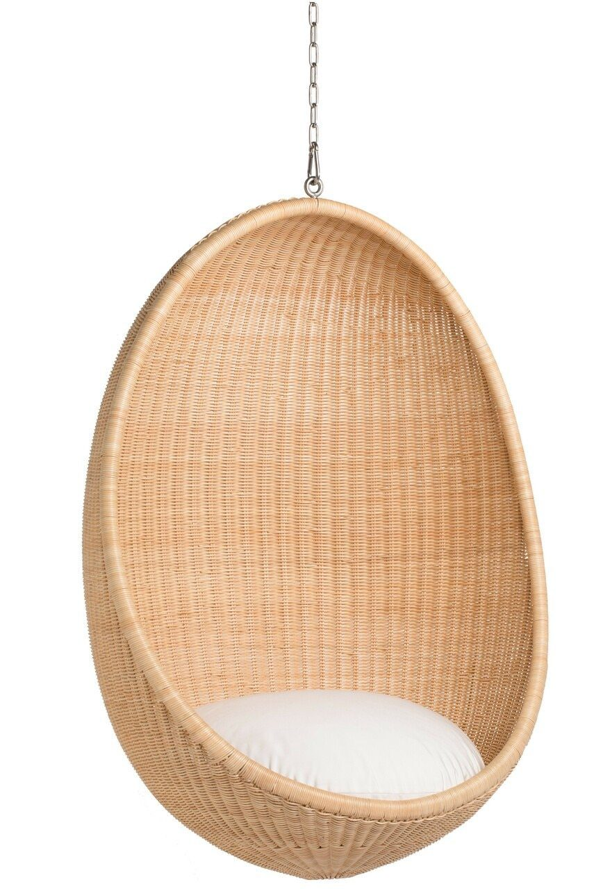 Sika, Nanna Ditzel Hanging Egg Chair, Core Natural- Placewares