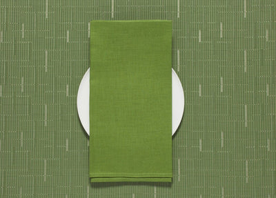 Chilewich, Linen Napkins - multiple colors, Grass- Placewares
