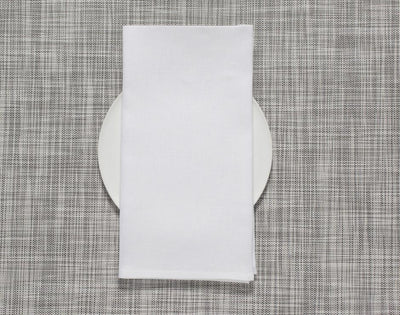 Chilewich, Linen Napkins - multiple colors, White- Placewares