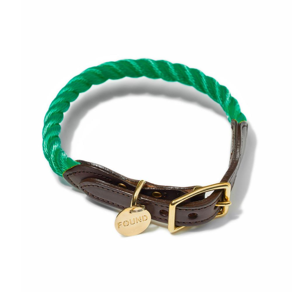 Found My Animal, Marine-Grade Cat & Dog Collar - Miami Green, - Placewares