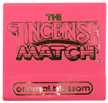 The Incense Match, Incense Matches, assorted scents, Oriental Blossom- Placewares