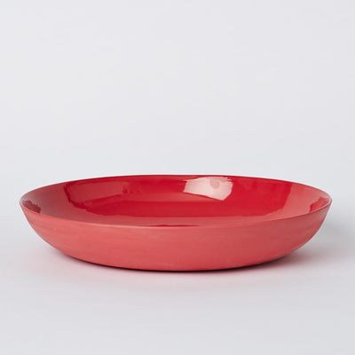Mud Australia, Pebble Bowl Large, Red- Placewares