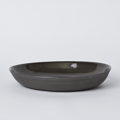 Mud Australia, Pebble Bowl Large, Slate- Placewares