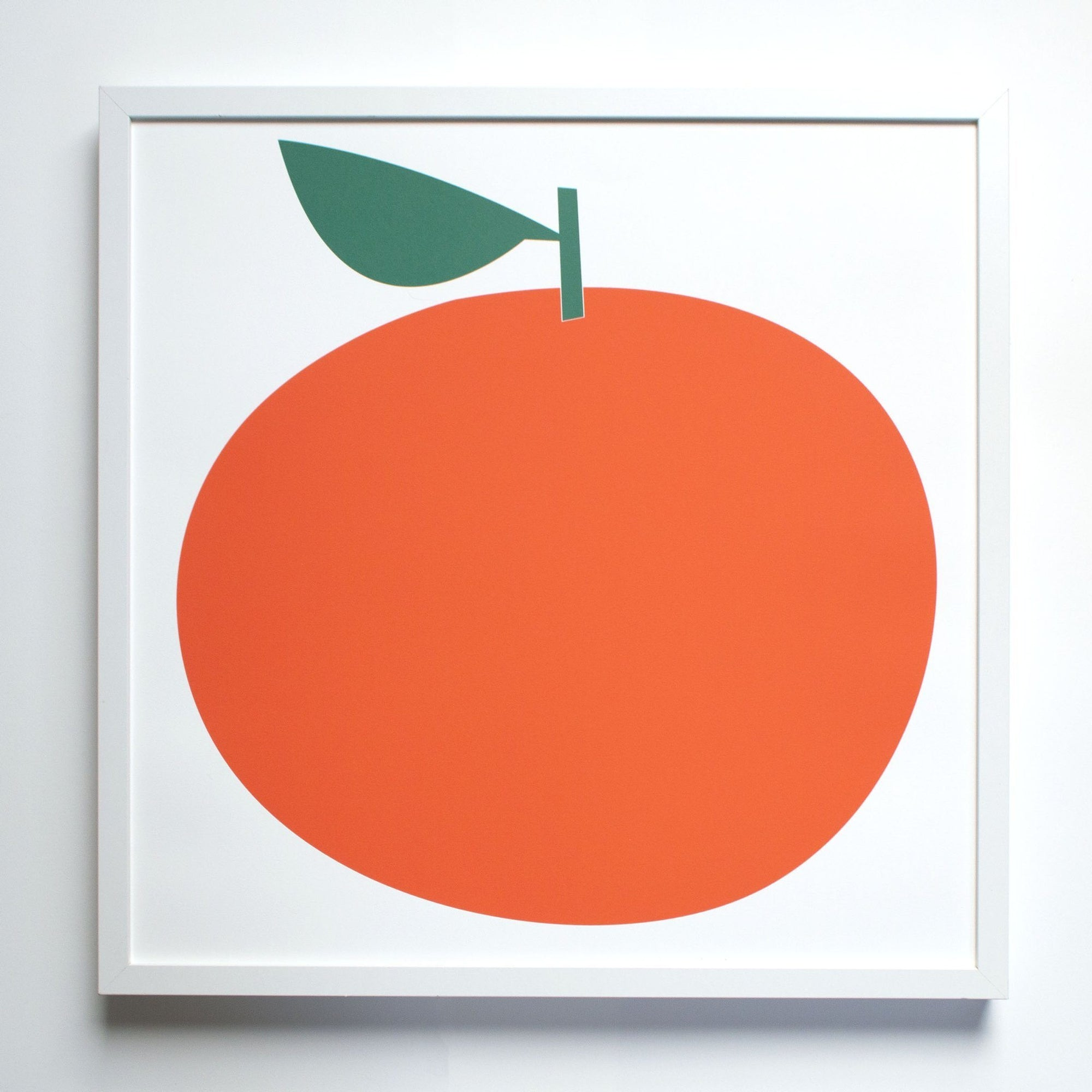 Banquet Workshop, Clementine Citrus Screenprint, - Placewares