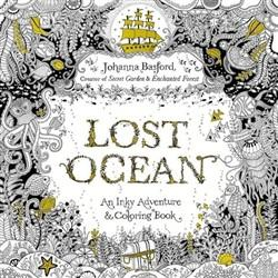 Penguin Random House, Lost Ocean: An Inky Adventure and Coloring Book, - Placewares