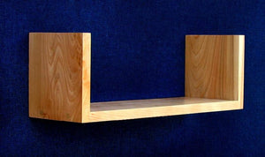 Woodform, Inc., Flying Nun Shelf 9x33', - Placewares
