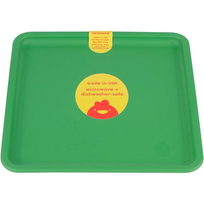 Lollaland, Mealtime Plates - multiple colors, Good Green- Placewares