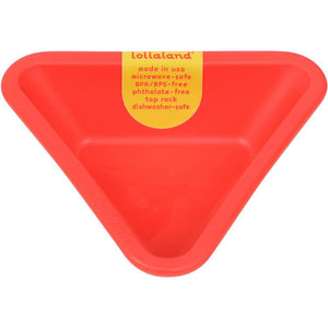 Lollaland, Mealtime Dipping Cups - multiple colors, Bold Red- Placewares