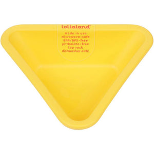 Lollaland, Mealtime Dipping Cups - multiple colors, Chirpy Yellow- Placewares