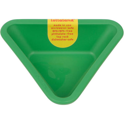 Lollaland, Mealtime Dipping Cups - multiple colors, Good Green- Placewares