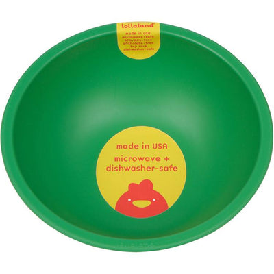 Lollaland, Mealtime Bowls - multiple colors, Good Green- Placewares