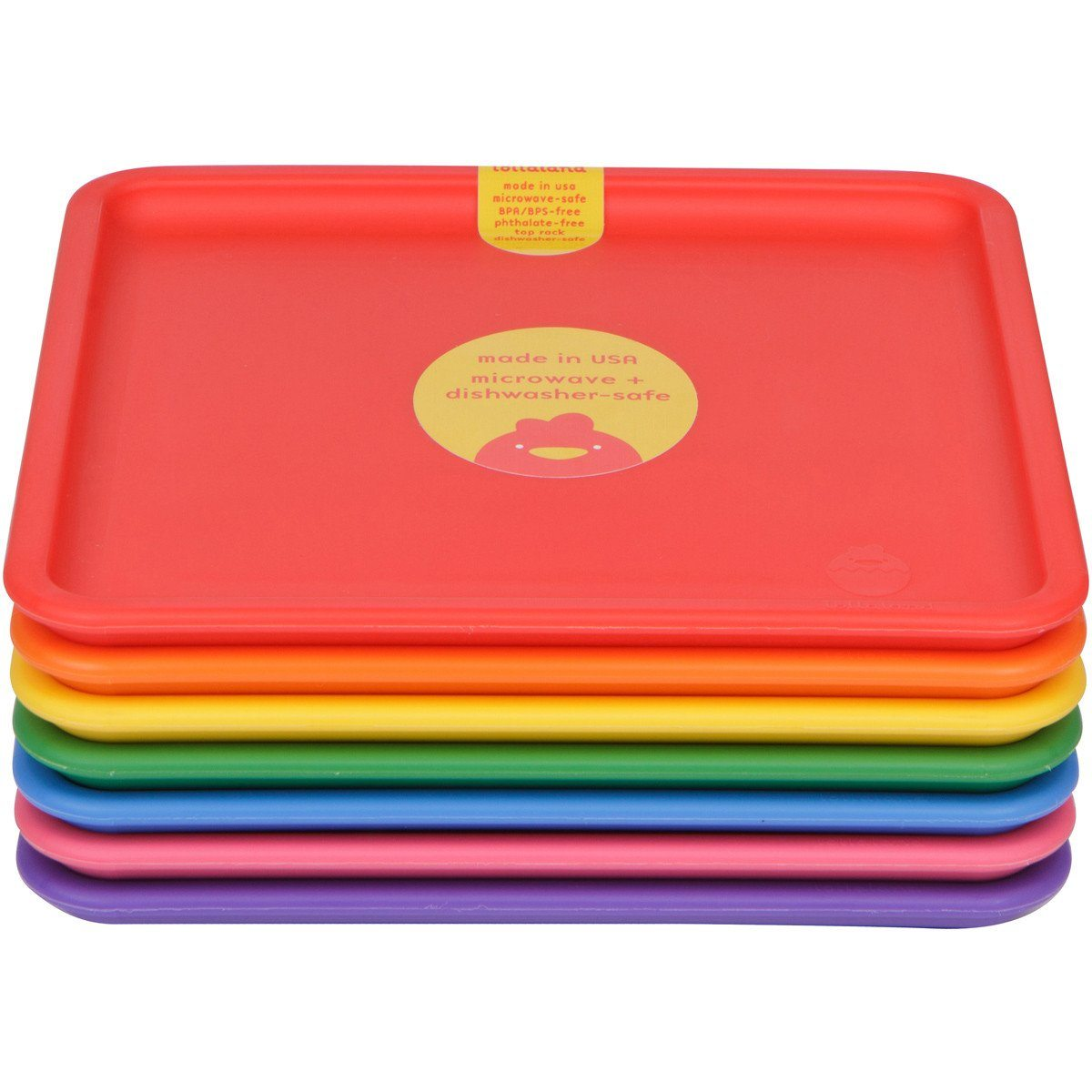 Lollaland, Mealtime Plates - multiple colors, - Placewares