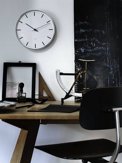 Arne Jacobsen, Arne Jacobsen City Hall Wall Clock, - Placewares