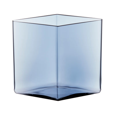 Iittala, Ruutu Vase, 8.25 x 7.5 in - multiple colors, Rain- Placewares
