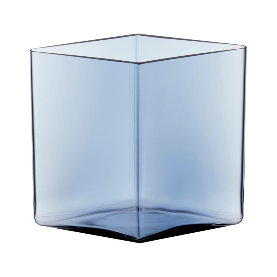 Iittala, Ruutu Vase, 8.25 x 7.5 in - multiple colors, Clear- Placewares