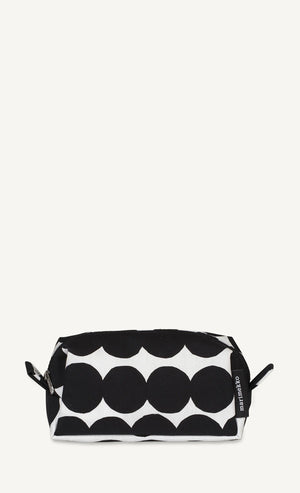 Marimekko, Taimi Räsymatto Toiletry Bag, White/Black- Placewares