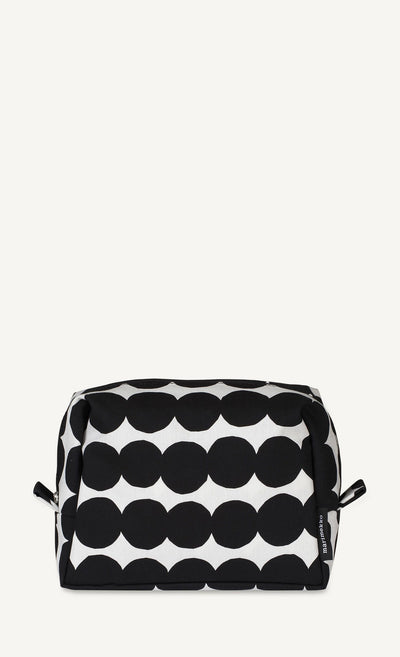 Marimekko, Verso Räsymatto Toiletry Bag, White/Black- Placewares