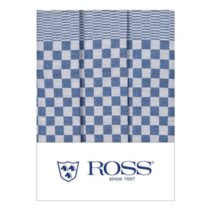 Ross Textilwerke, German Cotton Dish Towel, super absorbent, Blue- Placewares